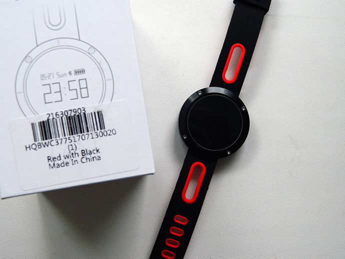 DM58 — умен часовник и фитнес гривна