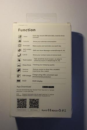 Смарт-гривната I5 Plus приема с лекота екстрема 1