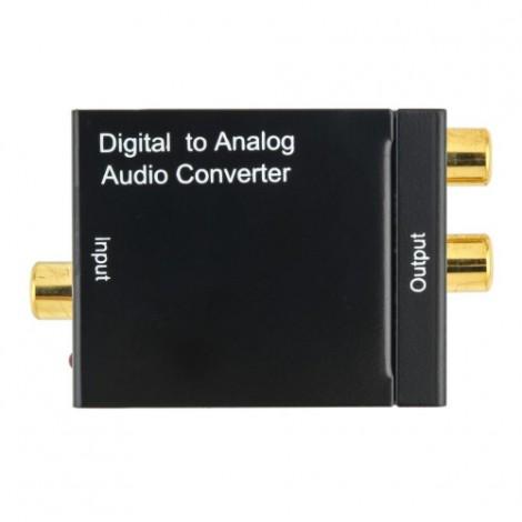 S/PDIF конвертор в аналогов стерео-сигнал