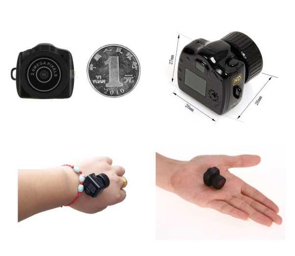 MiniCamera Y2000 - Най-малката в света камера 4