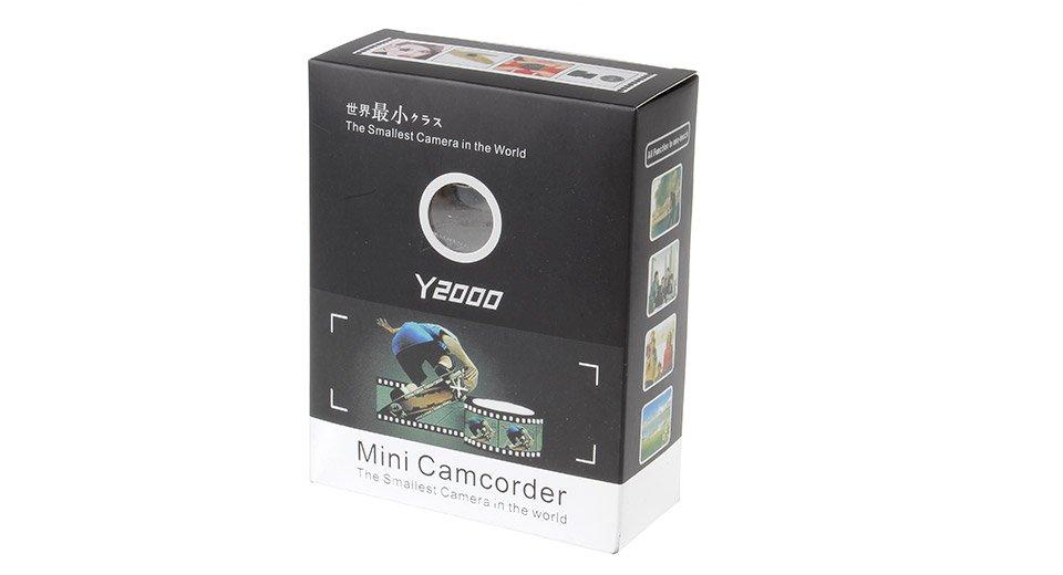 MiniCamera Y2000 - Най-малката в света камера