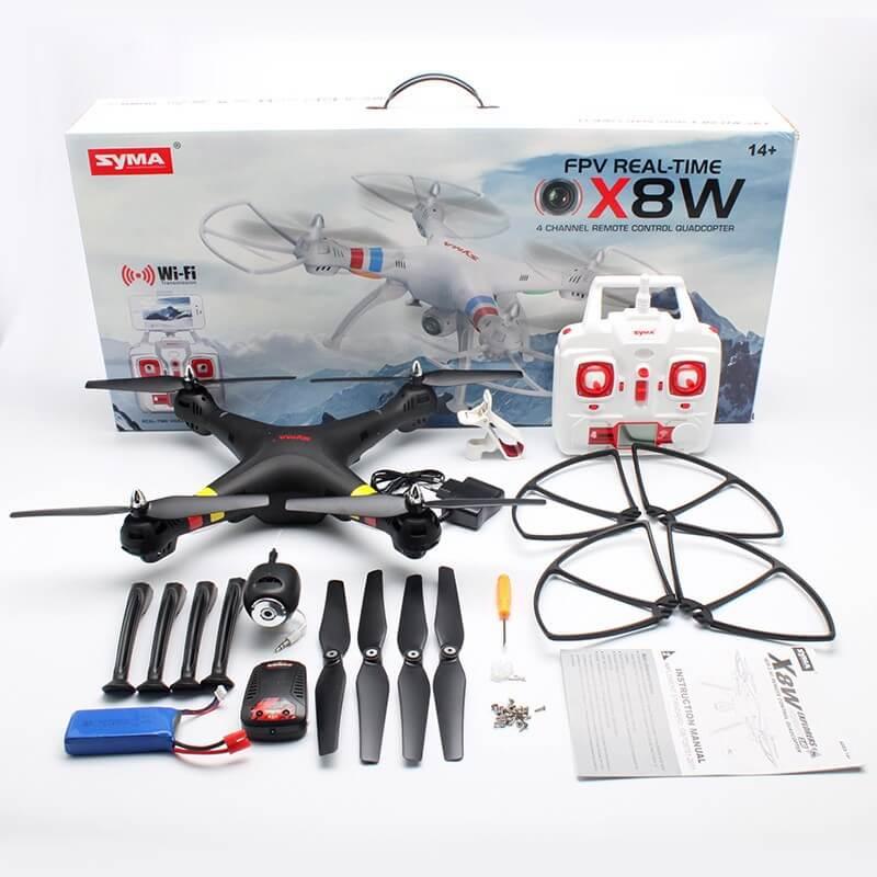 Syma X8W квадрокоптер с допълнителни възможности