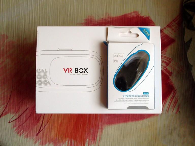Виртуалните очила VR-box 2.0 с Bluetooth дистанционно управление за смартфони с екрани от 3.5 до 6.0 инча 1