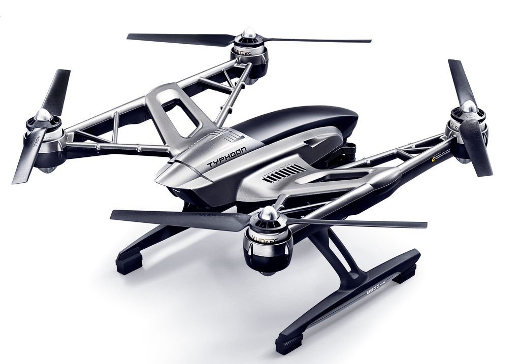 Ревю на дрона Yuneec Q500 Typhoon 4K 4